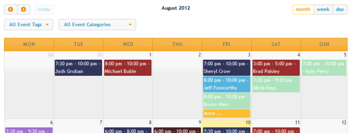 Using Event Calendars - Events Manager for WordPress