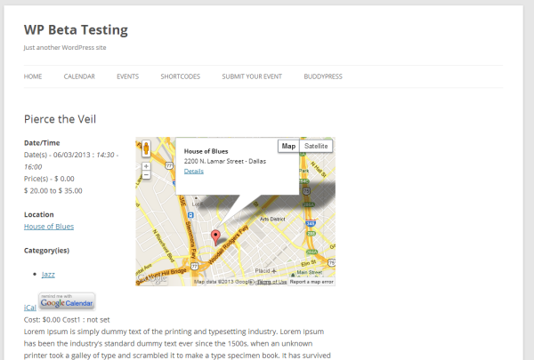 Using Theme Templates for Event and Location Pages - Events Manager ...